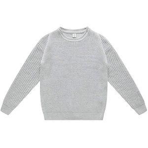NWT boys grey crew neck sweater